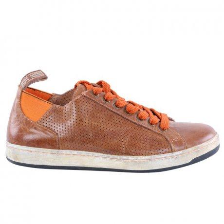 new style c3ee4 28ff3 MATCHLESS Damen Leder Sneaker Schuhe Brighton Vent Antique Cuero 142040