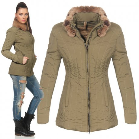 MATCHLESS Damen Übergangs Jacke STIRLING Military Green...