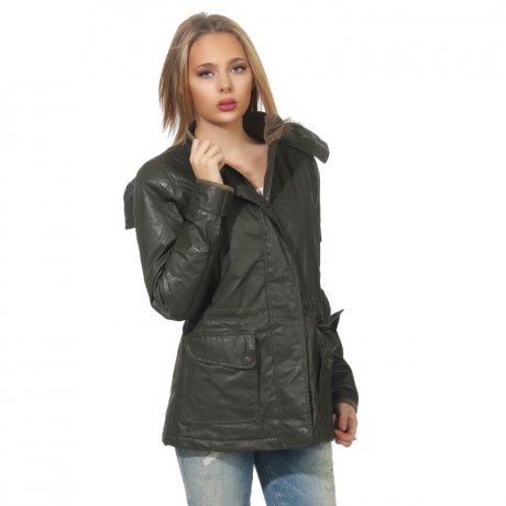 MATCHLESS Damen Übergangs Wax Jacke NOTTING HILL British...