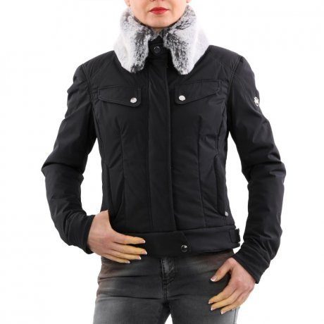 MATCHLESS Damen Winter Jacke NEW ROADFAHRER Black