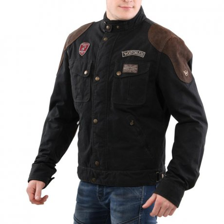 MATCHLESS Herren Übergangs Wax Jacke VINEY REBEL BLOUSON...