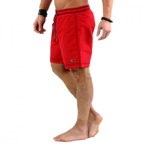 NAPAPIJRI Herren Bade Shorts VILLA SOLID A Romantico Red...