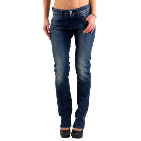 REPLAY Damen VICKY Jeans Hose Blue WX648
