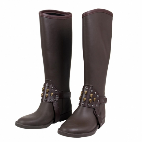 TATOOSH Damen Gummistiefel Bronx Marrone
