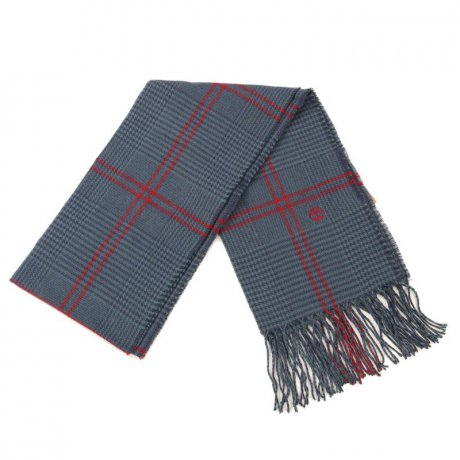 TIMBERLAND Unisex WOVEN GLEN PLAID BLANKET Schal Atlantic...