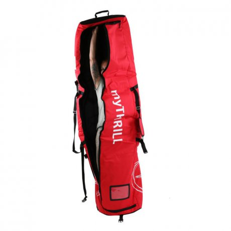 VÖLKL PERFORMANCE WEAR Snowboad Surfboard Bag Trolley Red