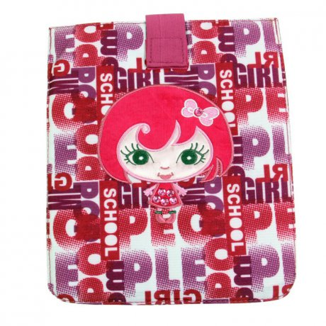 WOW LYCsac Tablet Case Tasche Girly Line Pink