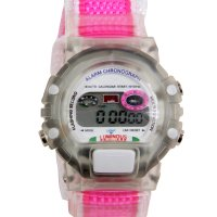 Wow Kinder Mädchen Digital LCD Uhr Pink 767937