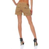 FELLA & LASS Damen Shorts Pia Ladies Beige Größe XS