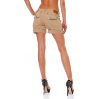 FELLA & LASS Damen Shorts Pia Ladies Atmosphere Beige Größe L