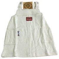KLITZEKLEIN Kinder Mädchen Trägerkleid Maritim Natur Beige 484715 Größe 68