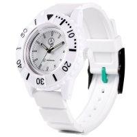 Q&Q SMILE SOLAR Unisex Armbanduhr Series 3 White...