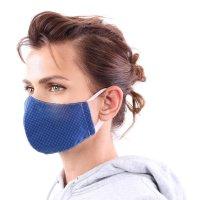 YOU`RE PROTECTED Community Thai Maske 2-Lagig unisex Blue Größe L