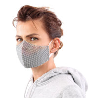 YOU`RE PROTECTED Community Thai Maske 2-Lagig unisex Black Größe M