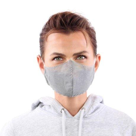 YOU`RE PROTECTED Community Thai Maske 2-Lagig unisex Black Größe L
