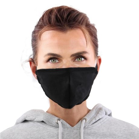 YOU`RE PROTECTED Community Thai Maske waschbar Black