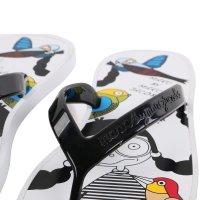 MARC BY MARC JACOBS Damen Toe Strap Sandale Zehensandale BIRD White Größe 36