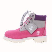 TIMBERLAND Kinder Stiefel Boots 6 Inch PREMIUM Rosa...