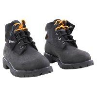 TIMBERLAND Kinder Winter Stiefel Boots 6 Inch PREMIUM Schwarz Nubuck Größe 31 wasserdicht