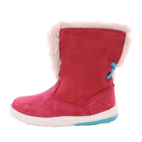 TIMBERLAND Kleinkinder Winter Stiefel Boots TODDLE Tracks Pink Nubuck Größe 23,5