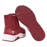 TIMBERLAND Kinder Winter Stiefel BRAMBER Pull on Pink Nubuck Größe 31