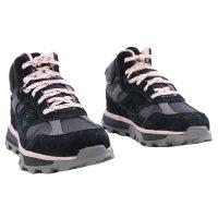 TIMBERLAND Kinder mittelhoher Wanderschuh TRAIL Trekker Mid Gore-Tex® Black Rose Größe 31 wasserdicht