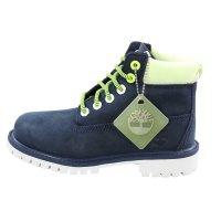 TIMBERLAND Kinder Stiefel Boots 6 Inch PREMIUM Blau Neon...