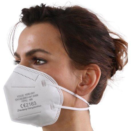 YOU`RE PROTECTED Gewerbe, Industrie & Wissenschaft, Produkte für Arbeitsschutz & Sicherheit, Arbeitsschutzausrüstung, Staub- & Atemschutzmasken, Faltbare Staubschutzmasken