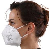YOU`RE PROTECTED Gewerbe, Industrie & Wissenschaft, Produkte für Arbeitsschutz & Sicherheit, Arbeitsschutzausrüstung, Staub- & Atemschutzmasken, Faltbare Staubschutzmasken 5