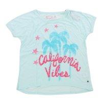FROGBOX Damen T-Shirt CALIFORNIA VIBES in 2 Farben