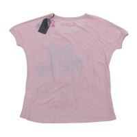 FROGBOX Damen T-Shirt CALIFORNIA VIBES in 2 Farben Rosa XS (34)