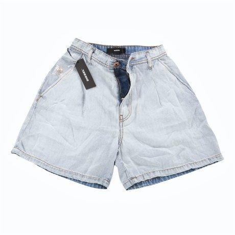 DIESEL Damen Jeans Shorts R-WEST Blau 00SELB Größe 23