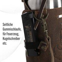 Black Forest Fox HOLLY Holster, Halfter 2.0 aus Leder mit Schulterriemen Unisex in Vintage Brown