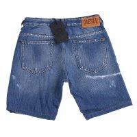 DIESEL Damen Slim Jeans Shorts D-RIFTY Blau 0097B 2. Wahl