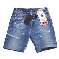 DIESEL Damen Slim Jeans Shorts D-RIFTY Blau 0097B 2. Wahl Größe 25