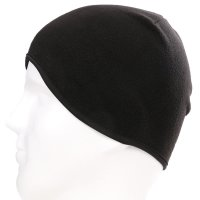Fleece Helm Sturmhaube Mütze für Damen Herren Cap in Schwarz 3er SET