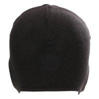 Fleece Helm Sturmhaube Mütze für Damen Herren Cap in Schwarz 1 Stück