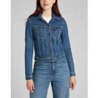 LEE JEANS Damen Stretch Denim Jeans Jacke RIDER Worn Iris...