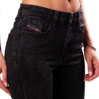 DIESEL Damen Stretch Denim Super Skinny Jeans Hose SKINZEE Schwarz 0813E 2. Wahl