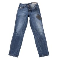 DIESEL Damen Slim Skinny Jeans Hose BABHILA Blau 069GC 2....