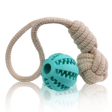 2er Set Ball und Zerrspielzeug