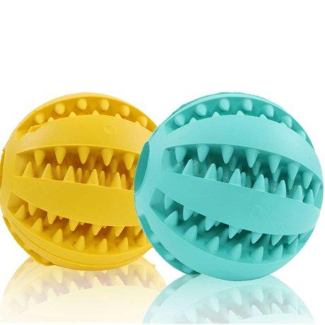 2er Set Bälle 5 cm Gelb Blau
